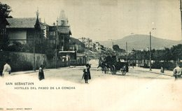 SAN SEBASTIAN. HOTELES PASEO DE LA CONCHA - Guipúzcoa (San Sebastián)