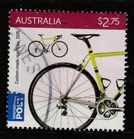 Australia  2015 Bicycles $2.75 Multicoloured SW 3511 O Used - 2010-... Elizabeth II