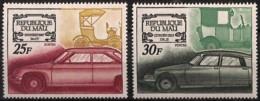 D - [828020]TB//**/Mnh-Mali 1969 - N° 118/19, Voitures Anciennes, Panhard Et Citroen, Automobile, Sc - Voitures