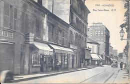 92- ASNIERES - RUE SAINT DENIS - Asnieres Sur Seine