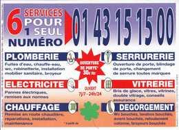 Calendrier °° 2011 - Multiservices Région Parisienne - 11x15 - Calendari