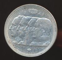 BELGIE  100 FRANC  REGENTSCHAP 1949  FRANS  2 SCANS - 06. 100 Francs