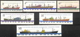 D - [828684]TB//**/Mnh-Pologne 1961 - N° 1100/05, Marine Nationale, Bateaux, SC - Bateaux