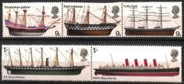 D - [828804]TB//**/Mnh-Grande-Bretagne 1969 - Tb Lot **/mnh, Familles Royales, Bateaux, SC - Bateaux