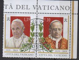 PIA - VATICANO - 2019  : 90° Anniversario Della Fondazione Dello Stato Della Città Del Vaticano - Vaticano (Ciudad Del)