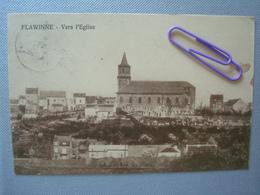 FLAWINNE : Vers L'église Et Le Cimetière En 1936 - Belgique