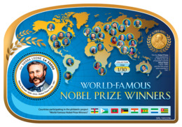 Sierra Leone 2019  Henry Dunant ,Nobel  Peace Prize S201903 - Sierra Leone (1961-...)