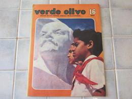 Verde Olivo Organo De Las Fuerzas Armadas Revolucionarias 1984 - Revues & Journaux