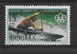 Thème Jeux Olympiques - Sports - Canoë - Timbre Neuf ** - Kanu