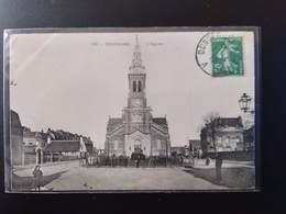 CPA (59) ROSENDAEL. L'église.    Animation.    (G Bis 530) - Autres Communes