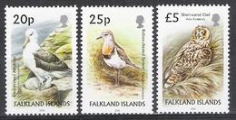 Falkland Islands 2006 Bird Definitives 20p, 25p & £5 MNH CV £24.00 - Unclassified