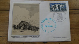 Enveloppe Escadrille Normandie Niémen - 1969 ................. - Air Post