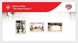 H01 Malta 2019 Malta At War - The Map Plotters 2019 Pack - Malta (Orden Von)