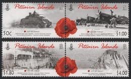 Pitcairn 2010 - Mi-Nr. 801-804 ** - MNH - ANZAC - Briefmarken