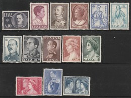 GRECE - N°623/36 ** (1956) Famille Royale - Griechenland