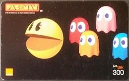 Mobilecard Thailand - Orange  - Game - Pac - Man - Thailand