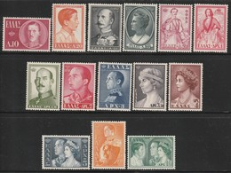 GRECE - N°640/53 ** (1957) Famille Royale - - Greece
