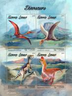 Sierra Leone 2019  Dinosaurs  S201903 - Sierra Leone (1961-...)