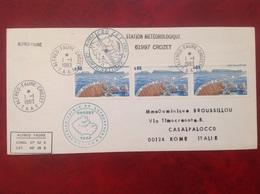 TAAF CROZET îles Des Apôtres Pour Rome - FDC