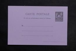 FRANCE - Entier Postal Type Sage Non Circulé - L 32980 - Cartes Postales Types Et TSC (avant 1995)
