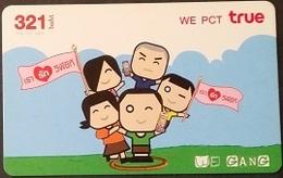 Prepaidcard Thailand - True - Werbung (2) - Thailand