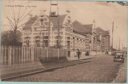 CPA:  HAINE Ste-PIERRE (belgique):    La Gare.     (E2178) - La Louvière