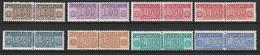 # Italia 1955/81 - Trasporto Pacchi In Concessione 8 Valori MNH ** - Pacchi In Concessione