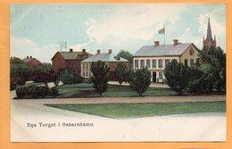 Oskarshamn Sweden 1900 Postcard - Sweden