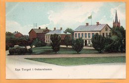 Oskarshamn Sweden 1900 Postcard - Suède