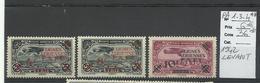 Levant, P.A. YT N° 1, 3, 4 Neufs ** MNH Cote 36€ - Levant (1885-1946)