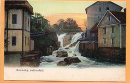 Ronneby Sweden 1900 Postcard - Suède