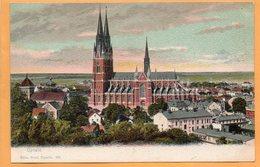 Upsala Sweden 1900 Postcard - Sweden