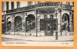 Stockholm Sweden 1906 Postcard - Zweden