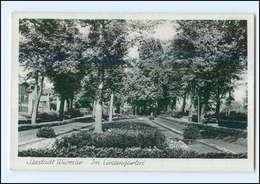 U7304/ Wismar Im Lindengarten Ak Ca. 1940 - Deutschland