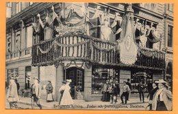 Stockholm Hertigparets Hyllning Sweden 1906 Postcard - Sweden