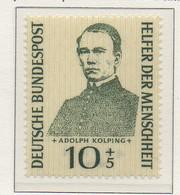 PIA - GERMANIA - 1955  : Benefattori Dell' Umanità - Adolph Kolping  -   (Yv 99) - Nuovi