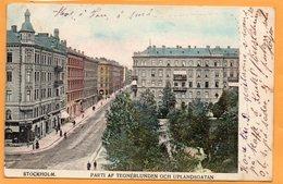 Stockholm Sweden 1906 Postcard - Sweden