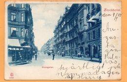 Stockholm Sweden 1900 Postcard - Sweden