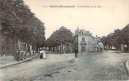 51 - Sainte-Menehould - Rond-Point De La Gare - Sainte-Menehould