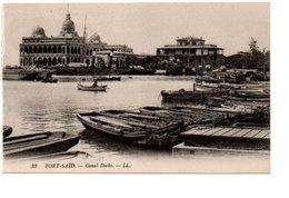 33. PORT SAÏD. CANAL DOCKS. / LL - Port Said