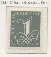 PIA - GERMANIA - 1955  : Uso Corrente  -   (Yv 102) - Nuovi