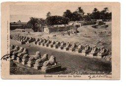 KARNAK. AVENUE DES SPHINX. - Egypt