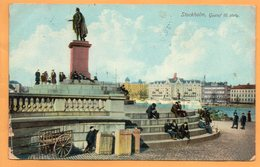 Stockholm Sweden 1908 Postcard - Sweden
