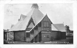 ROYAL MARINE ARTILLERY, THE  CRINOLINE CHURCH, EASTNEY BARRACKS - PORTSMOUTH ~ AN OLD REAL PHOTO POSTCARD  #94309 - Portsmouth