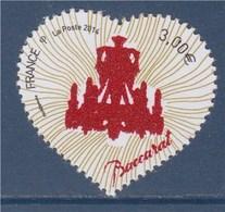 = Saint Valentin Coeur Baccarat N°4883 Neuf Issu Du Bloc Avec Poudre De Cristal, Lustre Zénith - France