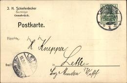 Cp Osnabrück In Niedersachsen, J. H. Schieferdecker, Nachfolger - Germany