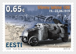 H01 Estonia 2019 Battle Of Vonnu 100 MNH Postfrisch - Estland