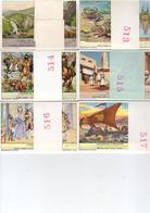 Chromos Liebig - 6 Séries De 6 Chromos - Lot  29 - Liebig