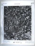 GROTE LUCHT-FOTO HOOGLEDE Ook ROESELARE 63x48cm KAART ORTO PLAN 1/10.000 In 1971 TOPOGRAPHIE PHOTO AERIENNE CARTE  R201 - Hooglede