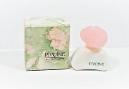 Miniatures De Parfum  PIVOINE BON ANNIVERSAIRE    De YVES ROCHER  EDT  7.5 Ml + Boite - Miniatures Modernes (à Partir De 1961)